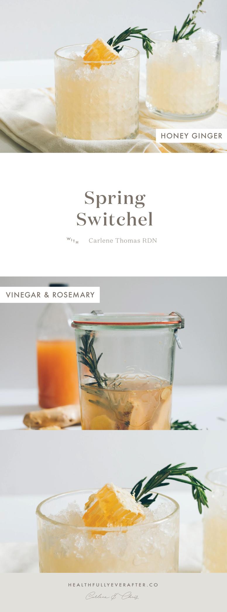 spring switchel drink