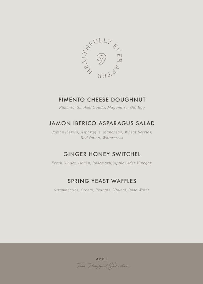 april 2017 menu