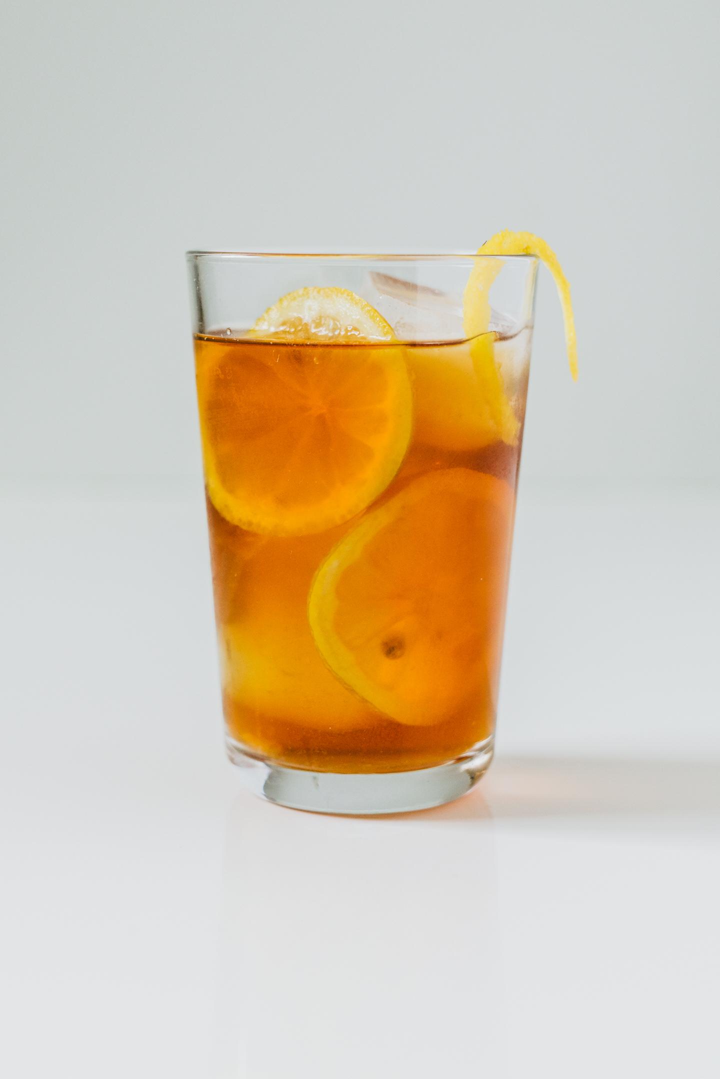 lemon black iced tea