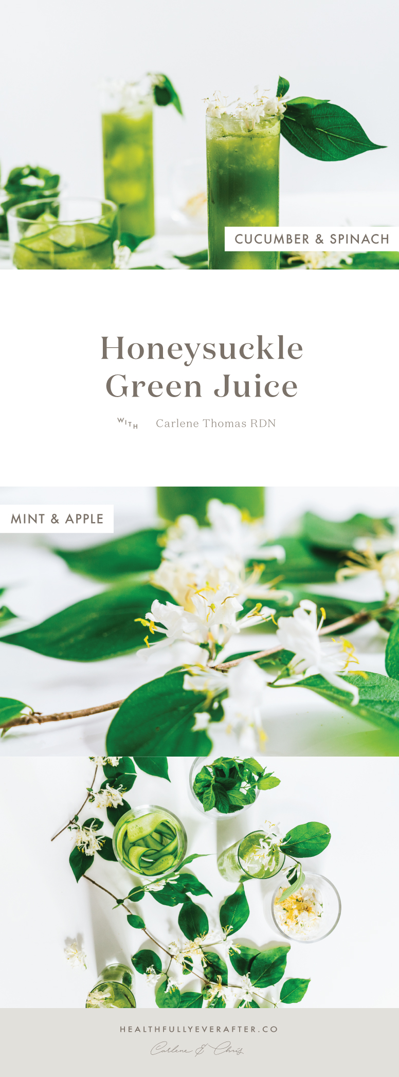 honeysuckle green juice