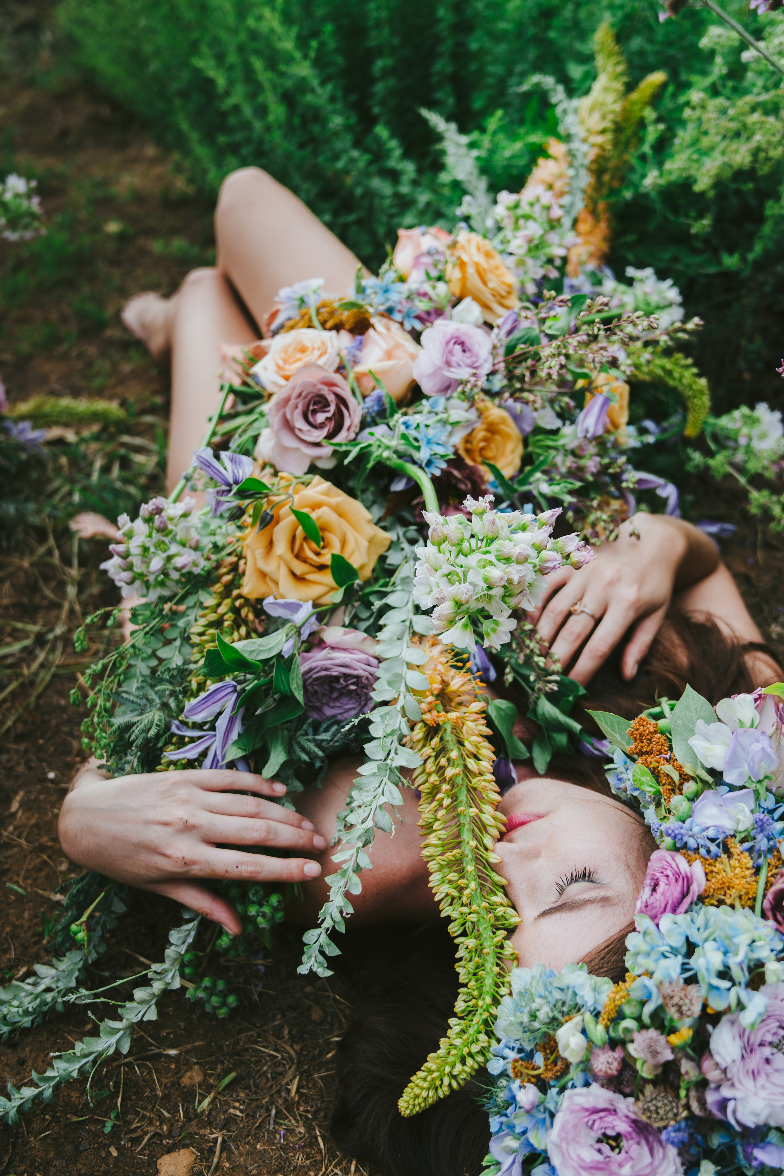 Wearable Flowers: Virginia Garden Photo Shoot