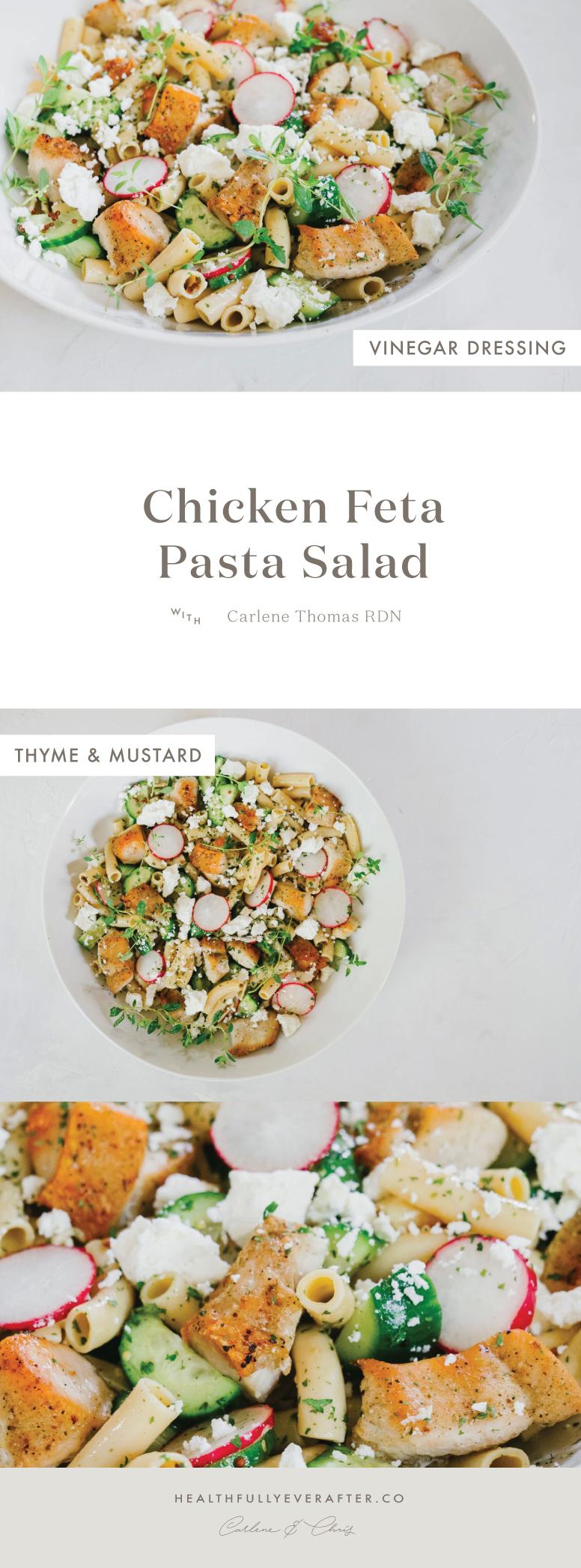 gluten free chick pea pasta chicken salad