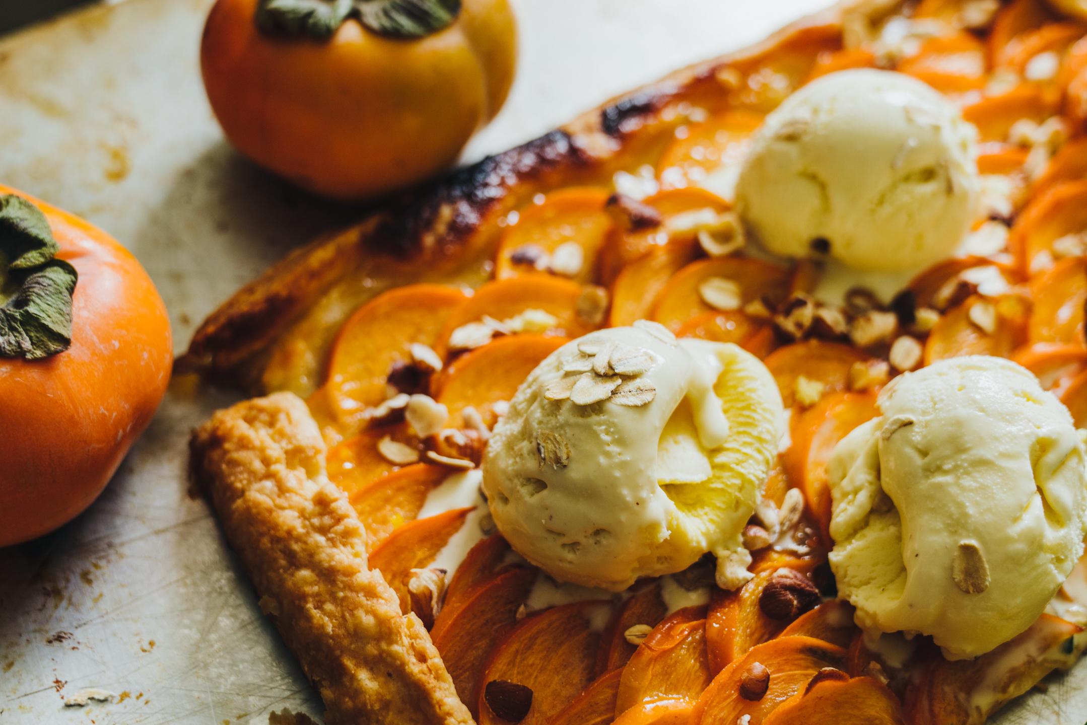 oatmeal ice cream recipe: fall dessert idea