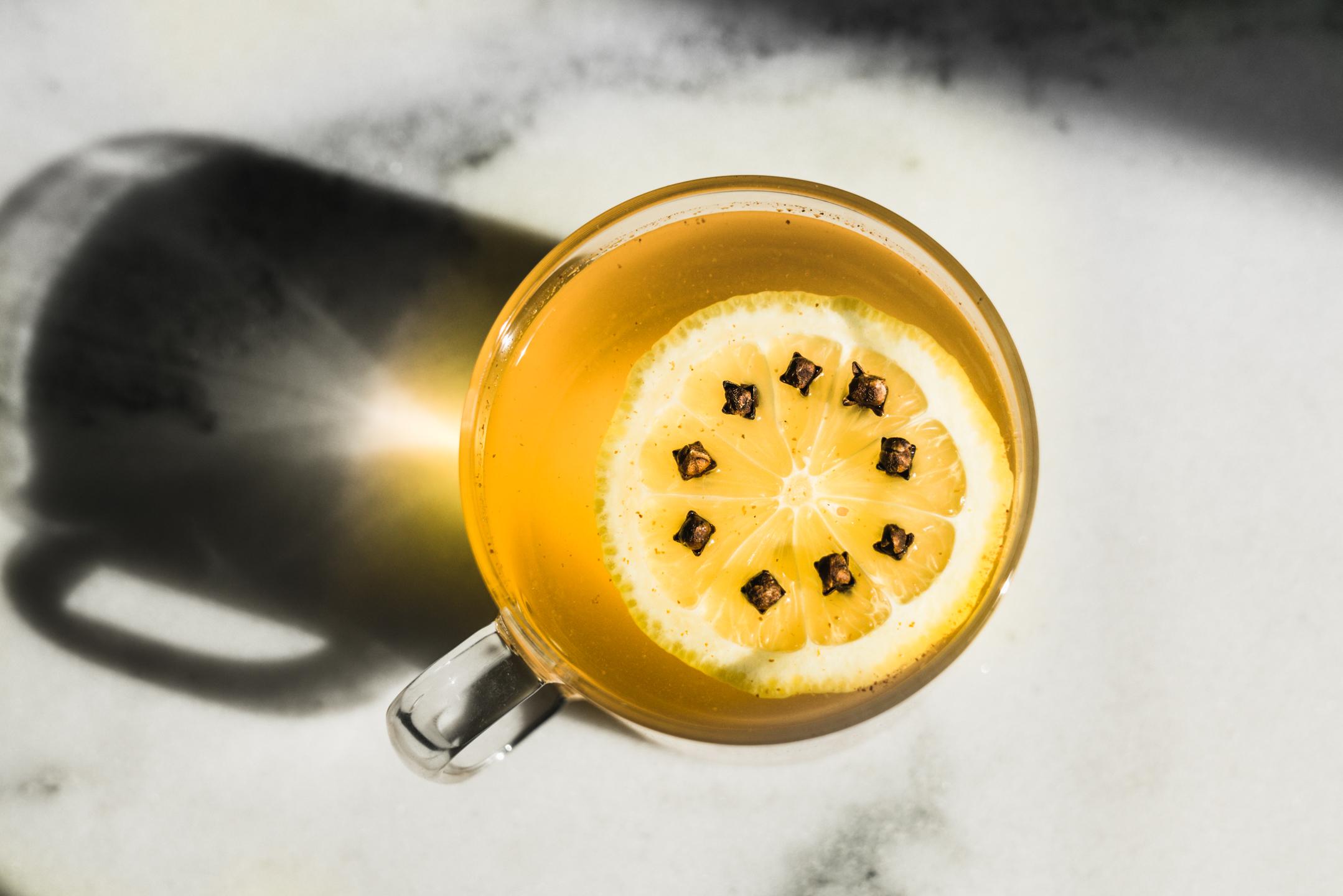 DIY Ginger Cayenne Probiotic Tea Drink