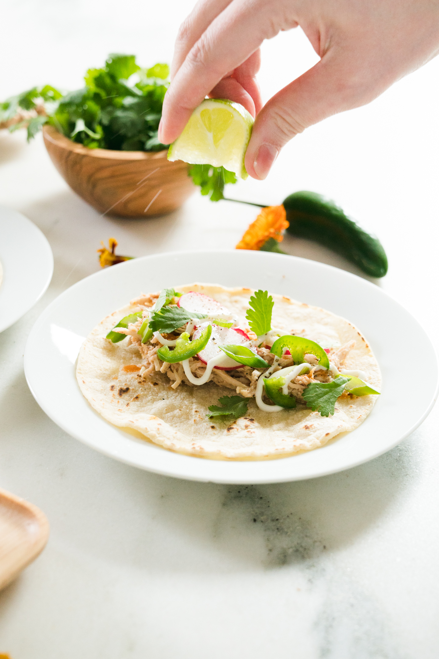 Five Spice Chicken Tacos