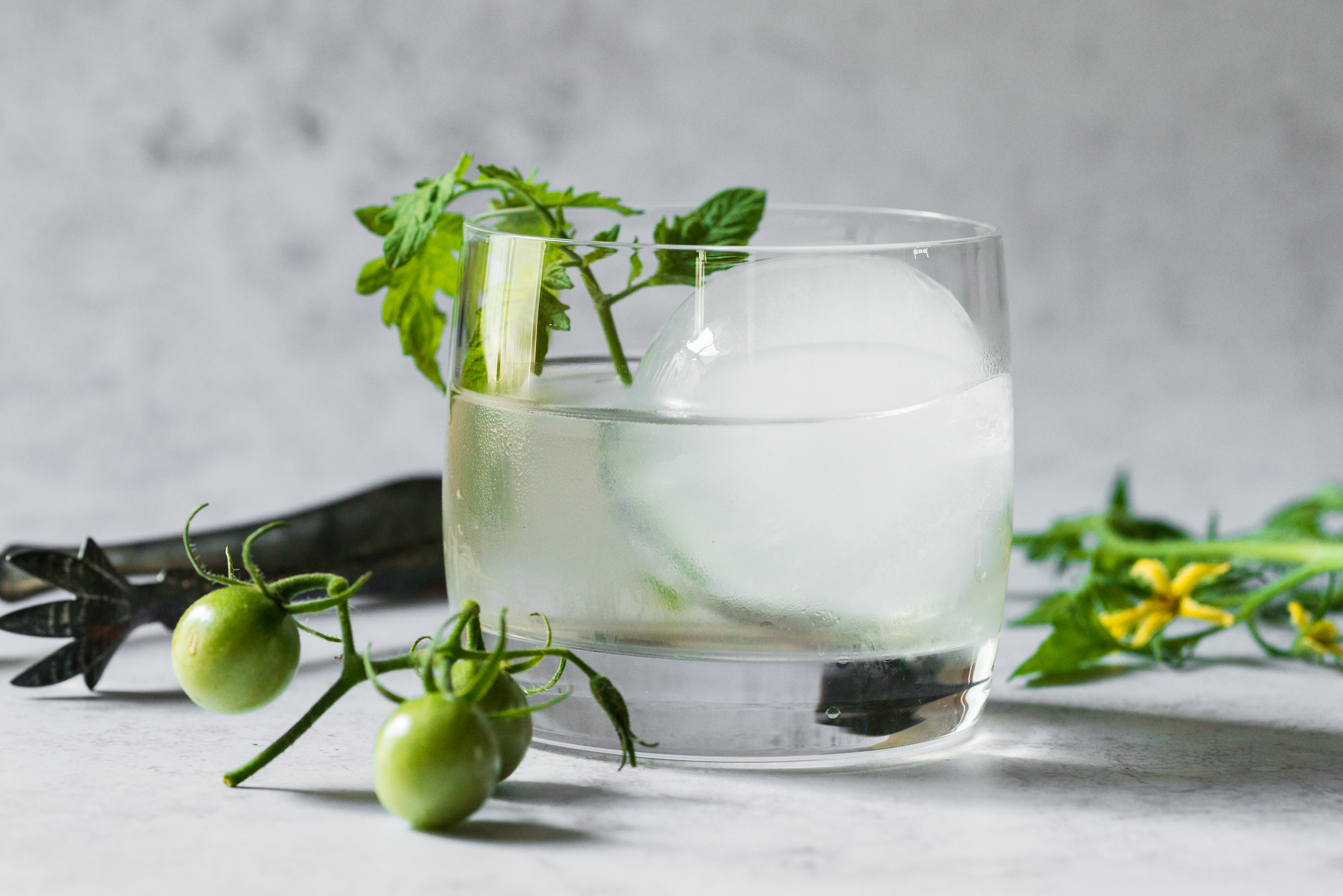 Tomato Vine Vodka Cocktail