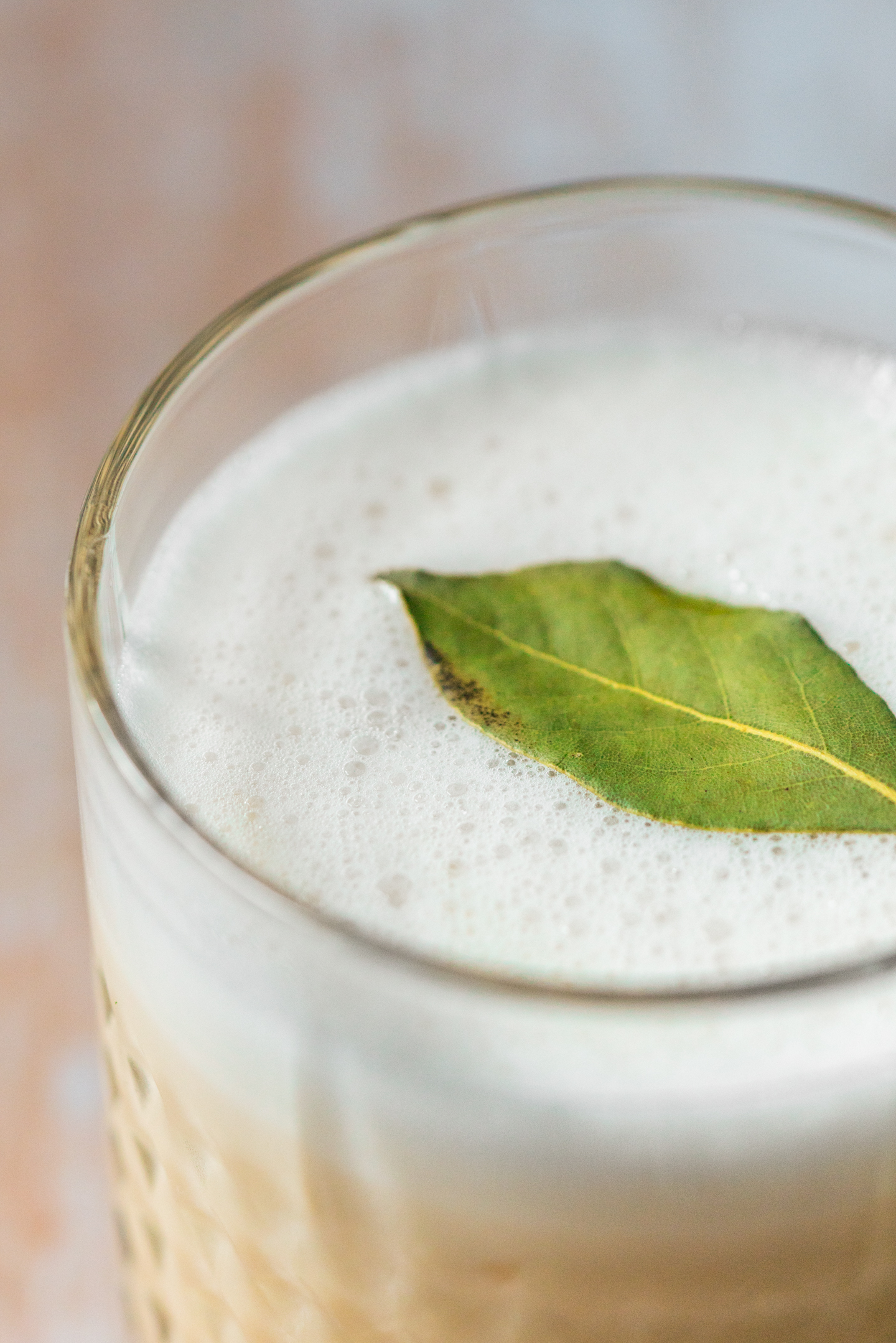 Fall Herbal Whiskey Sour Cocktail