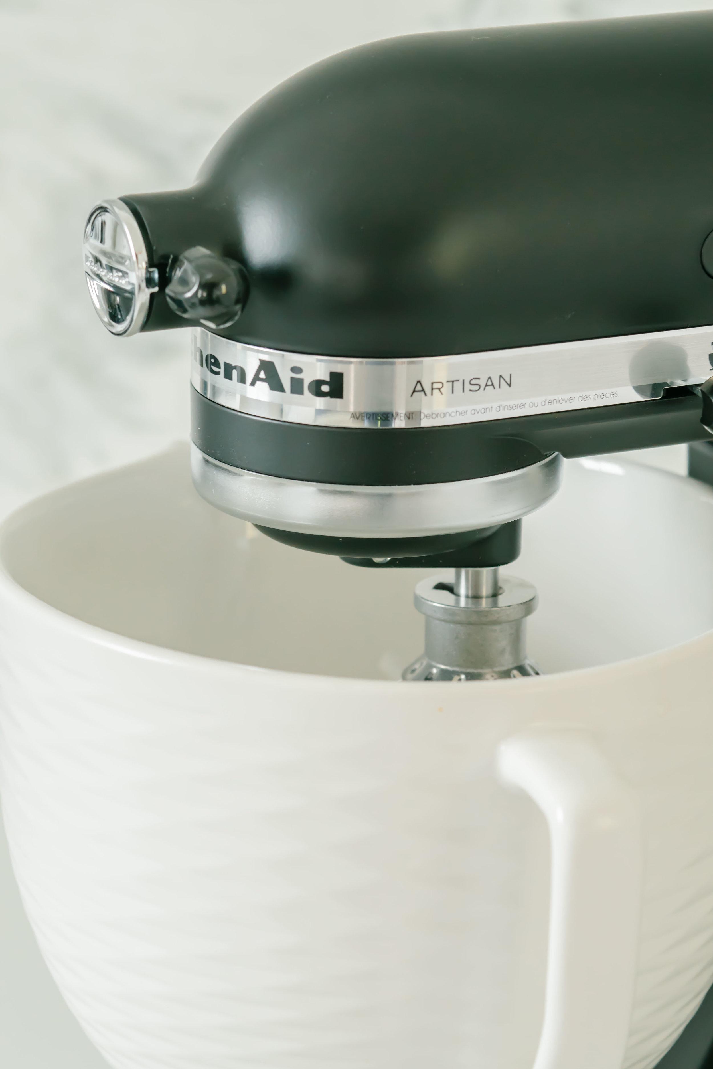 Matte Black KitchenAid Mixers and Ceramic Mixer Bowls