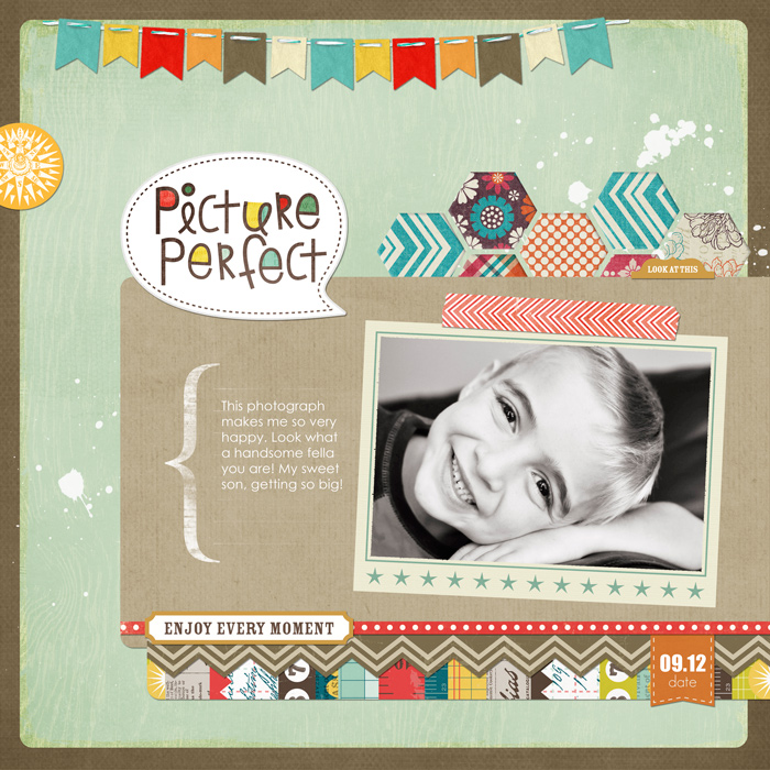 Make your first digital scrapbook page