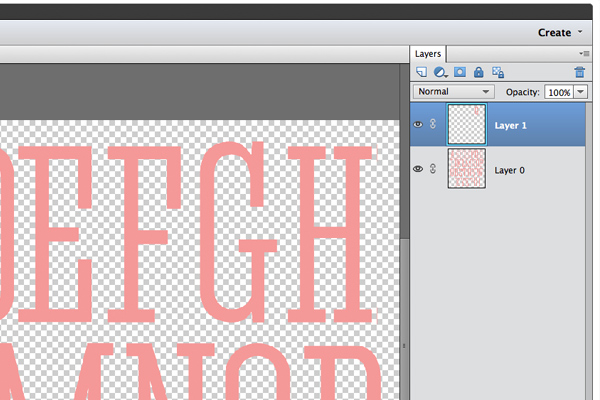 After copying an item to a new layer - Rectangular Marquee tool is selected still.