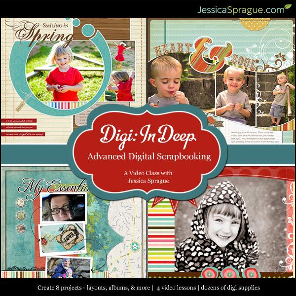 Digital Scrapbooking 3: Digi In Deep class 3 of 4