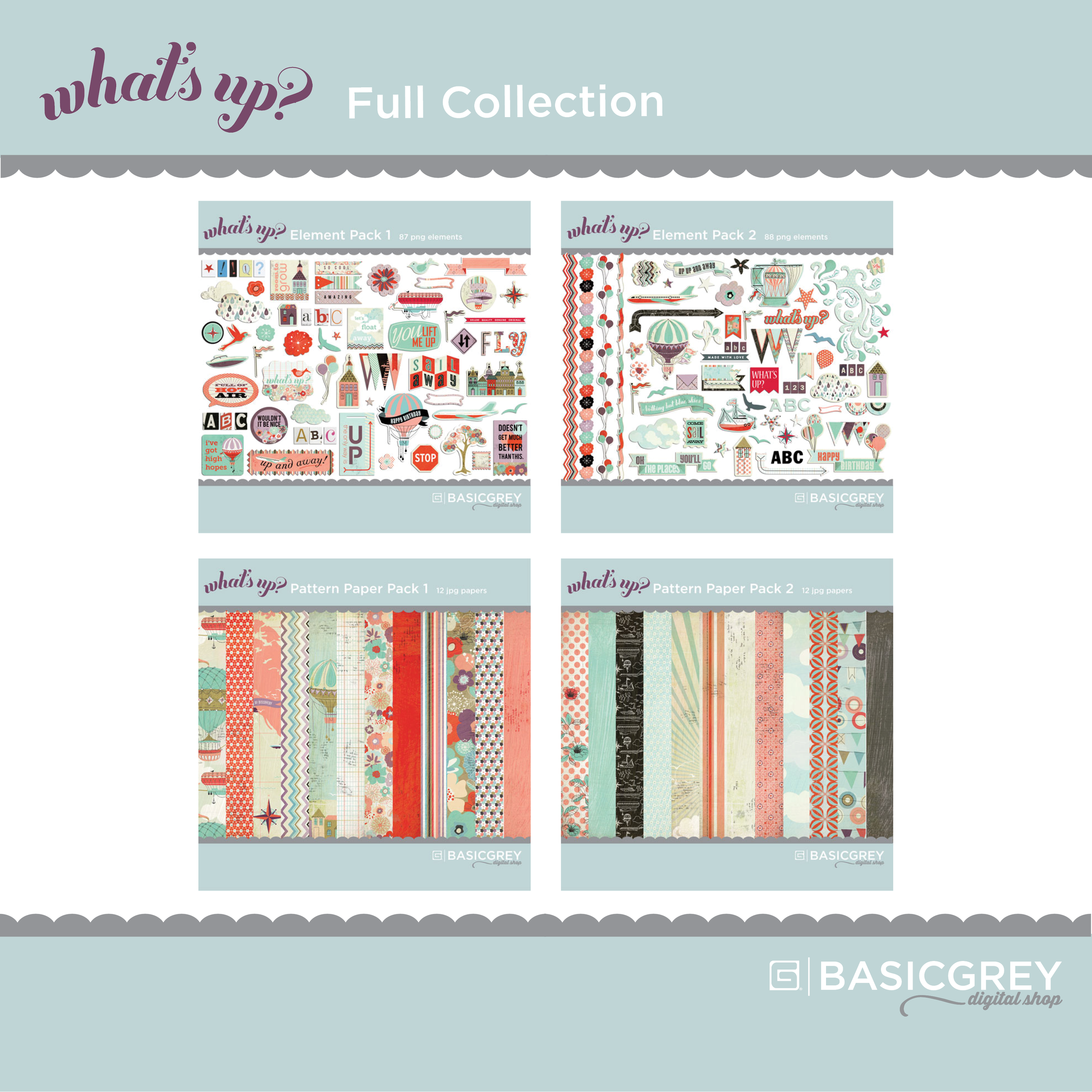 What's Up collection from BasicGrey.