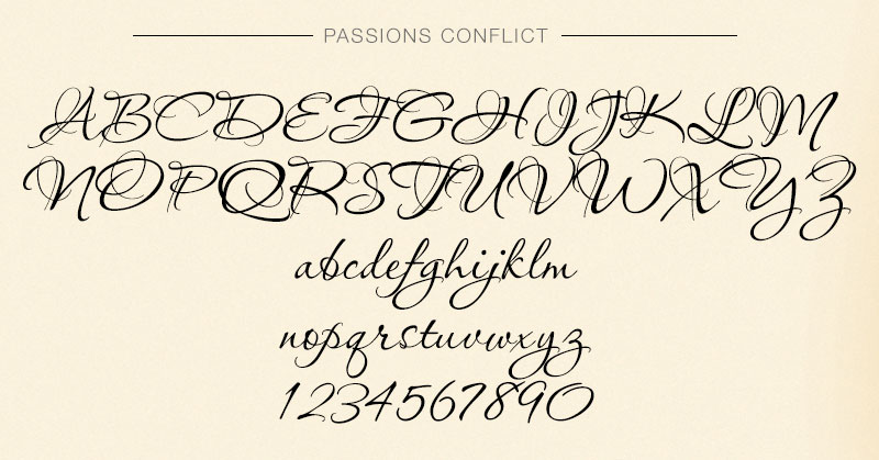Passions Conflict by Linotype