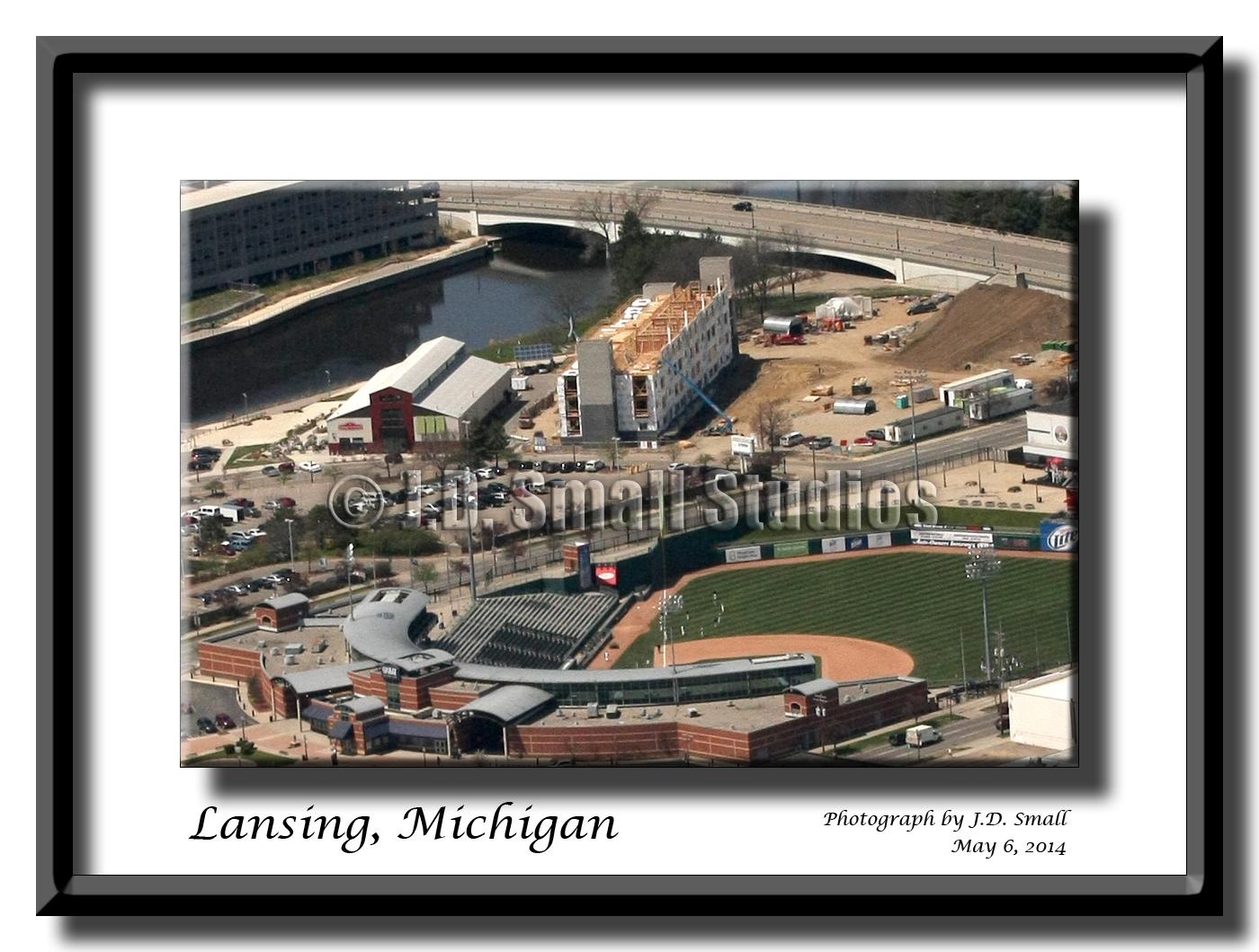 Stadium District, Lansing, Michgian