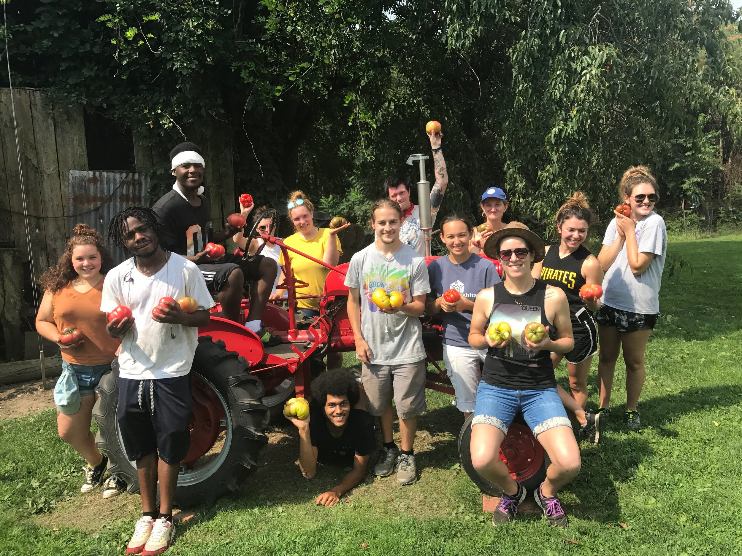 2018 CVF workshares and Grow Pittsburgh apprentices
