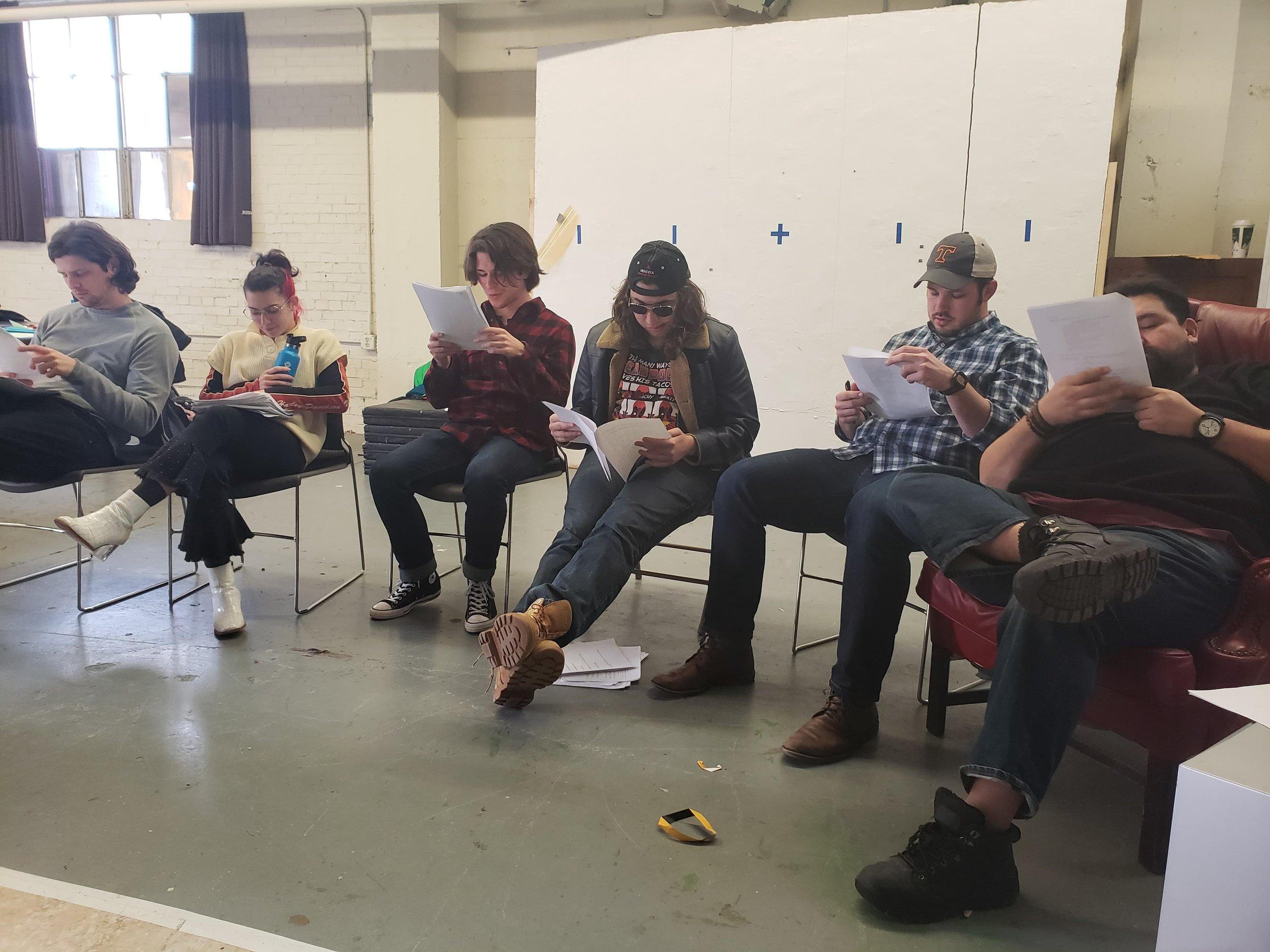 Screenplay reading