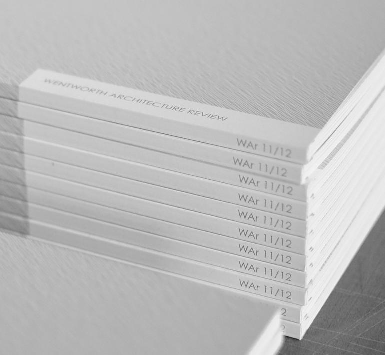 WAr    journal + collaborative print publication