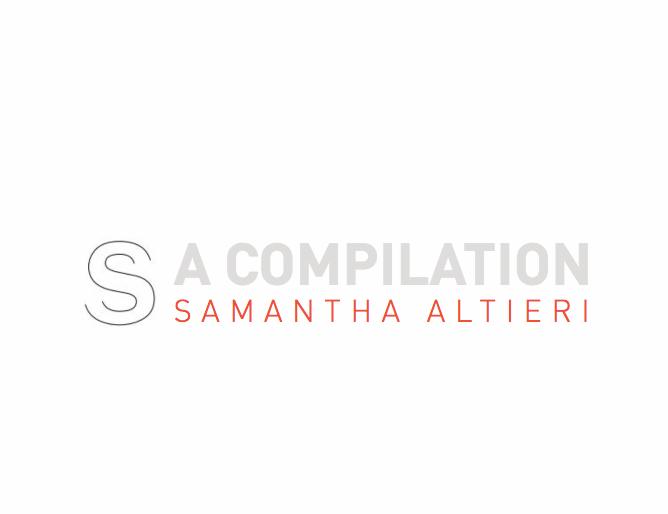 a compilation    comprehensive design portfolio