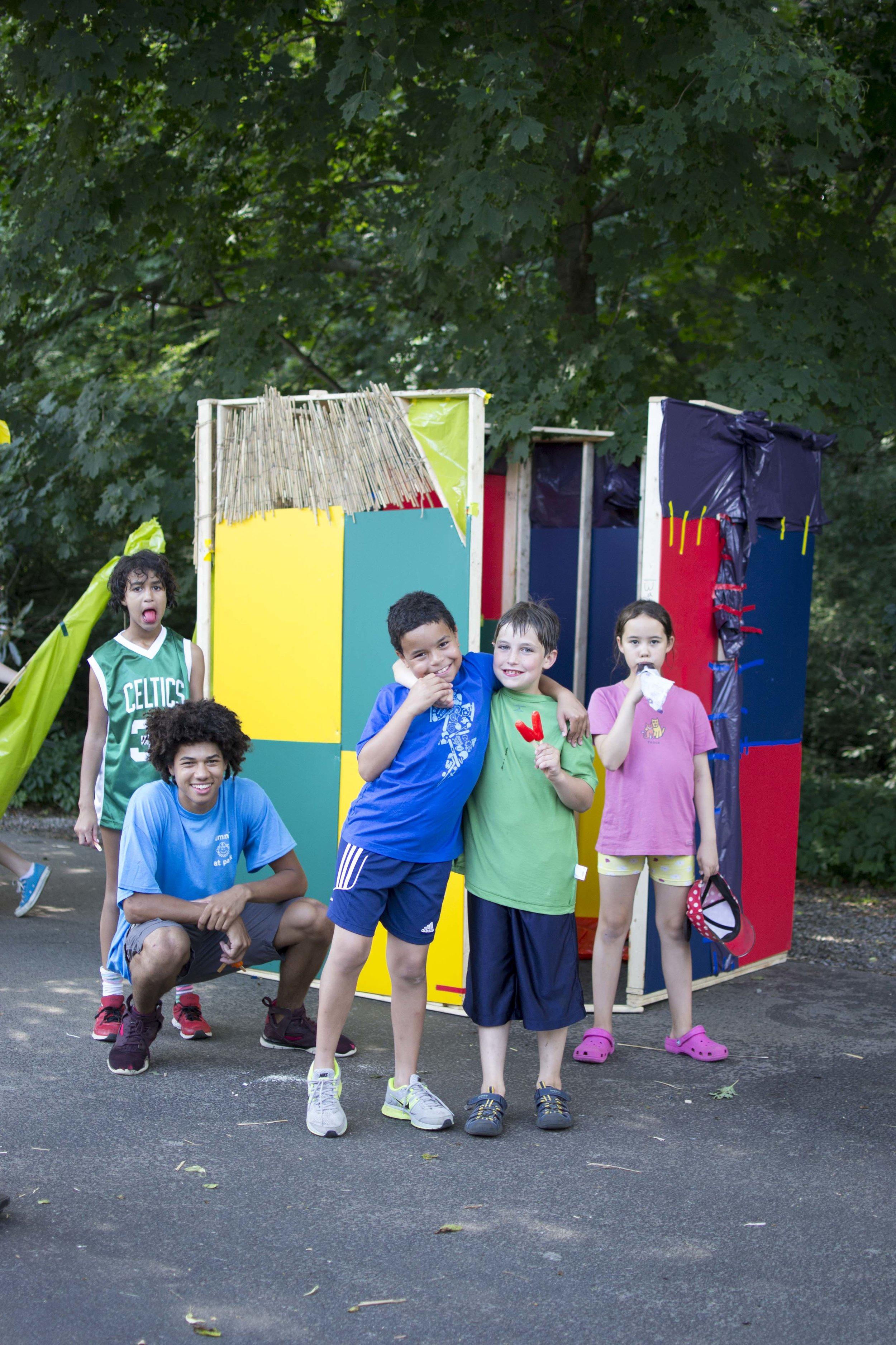 aspiring architects    design/build summer camp