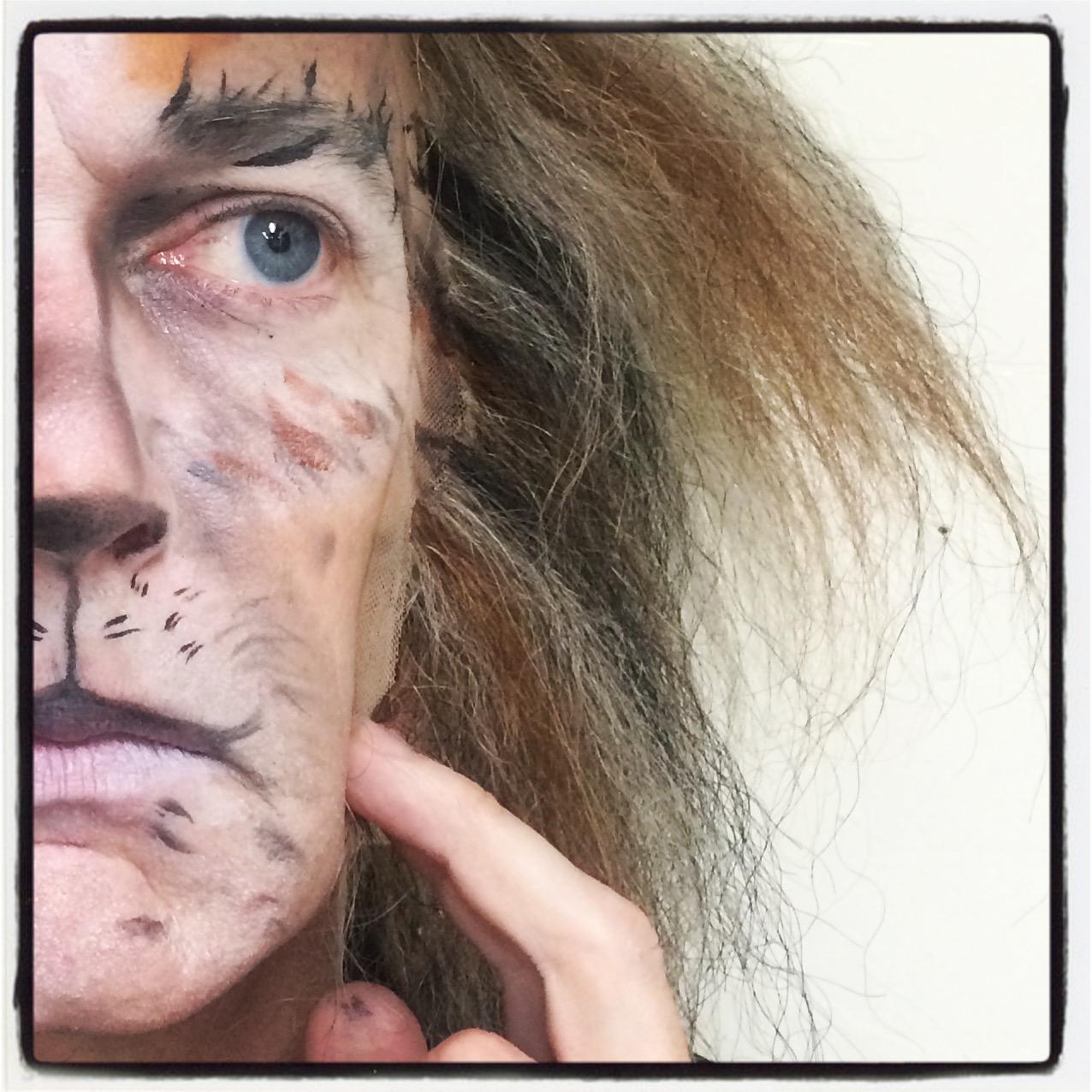 Considering | Gus | 1.0.#catsonbroadway #makeup #wig #instagram Christopher Gurr as Gus Neil Simon Theater photo credit :Christopher Gurr