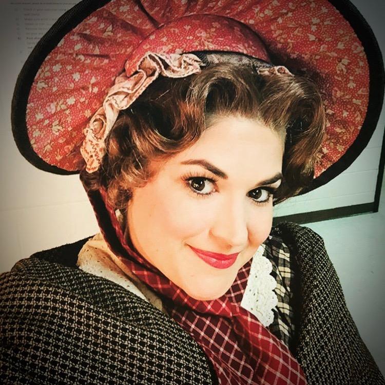 Jacqueline Petroccia as Mrs. Cratchit Alabama Shakespeare Festival  A Christmas Carol