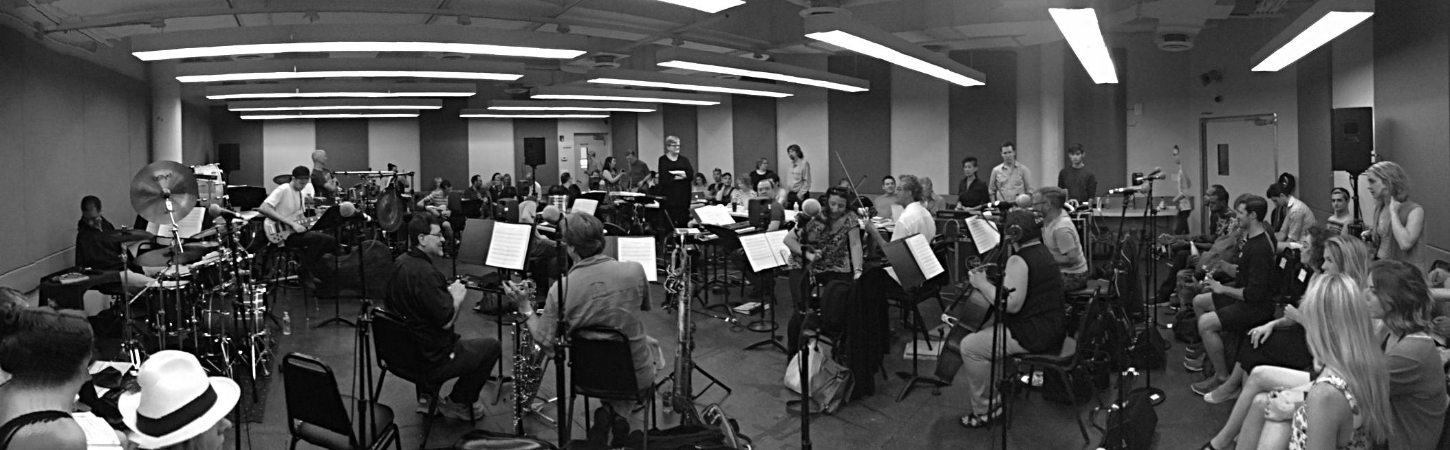 Cats sitzprobe Carroll Music, NY, NY July 27, 2016  photo credit : Chrstopher Gurr