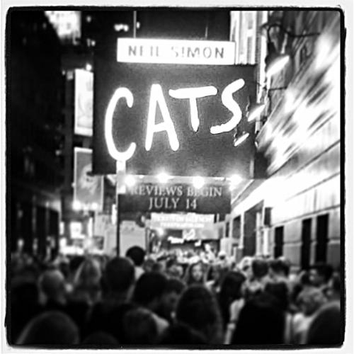 Cats Stage Door / Neil Simon Theatre July 14, 2016