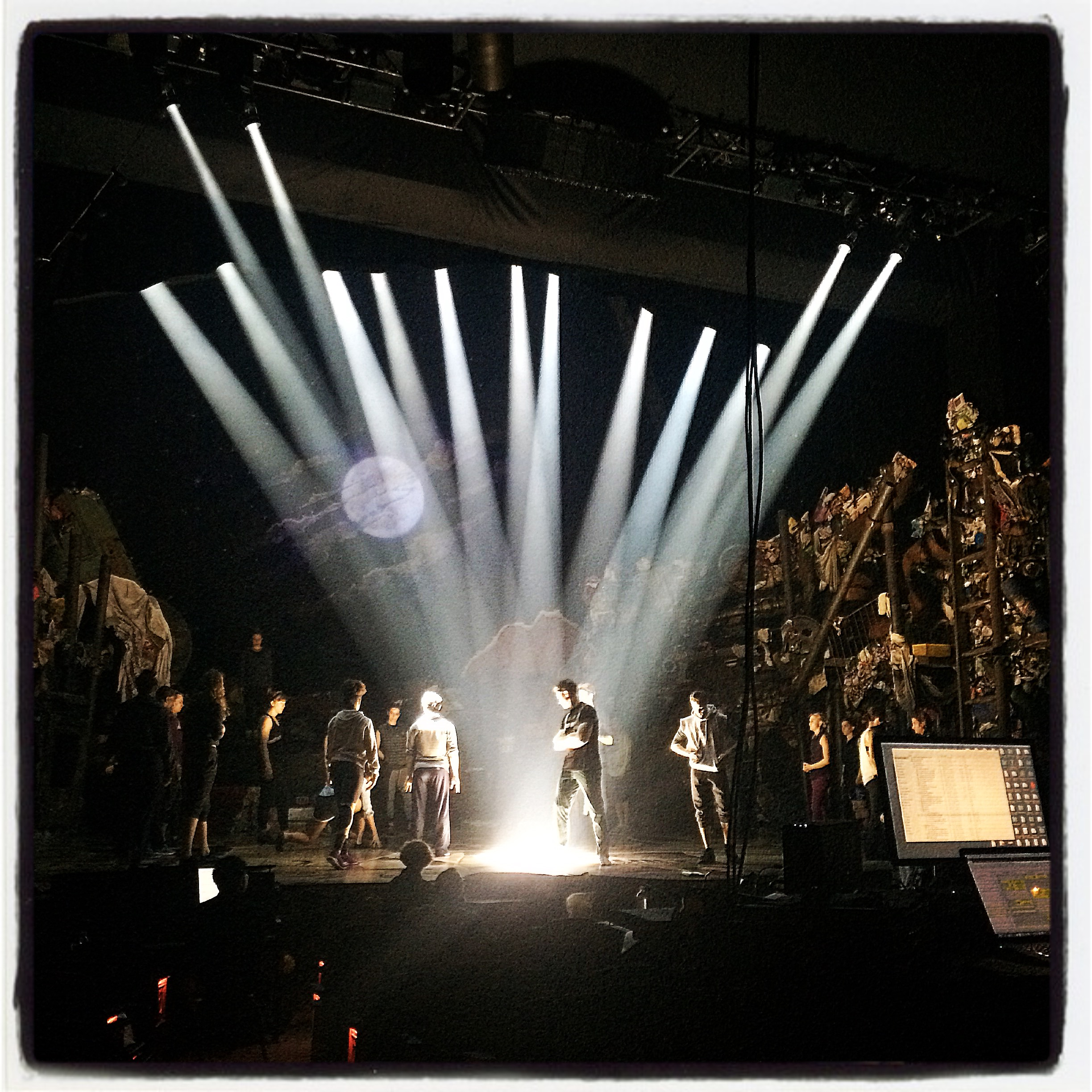 Cats Technical Rehearsal / Neil Simon Theatre July 2016  photo credit :Christopher Gurr