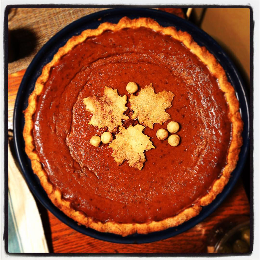 Best Damn Pumpkin Pie Ever (more than meets the eye)