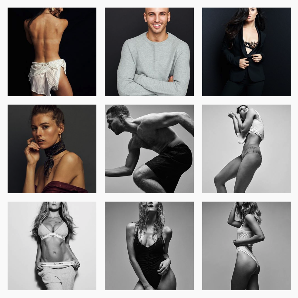 Justin Patterson Instagram Feed - all images by Justin Paterson