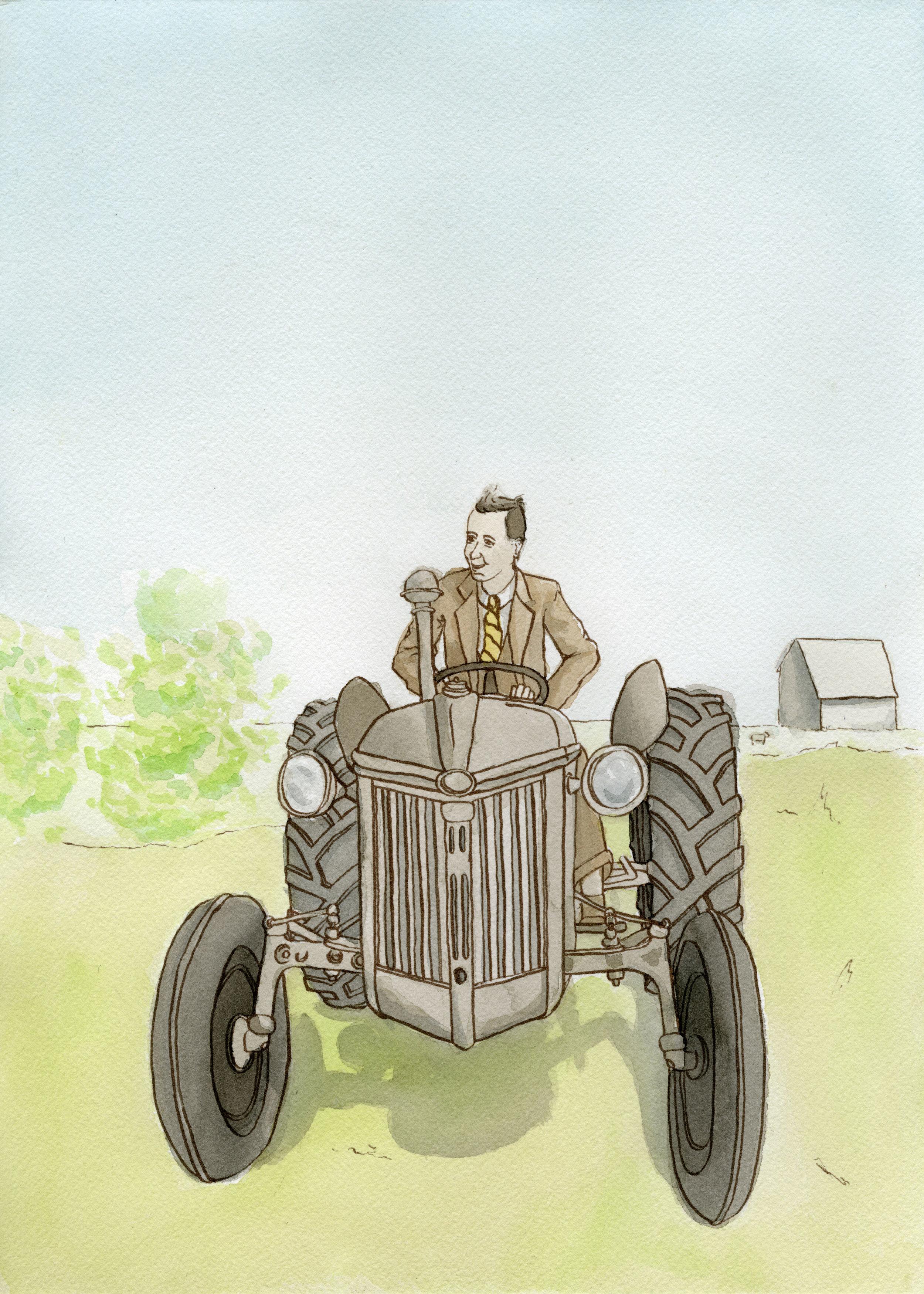 Grandpa's New Tractor