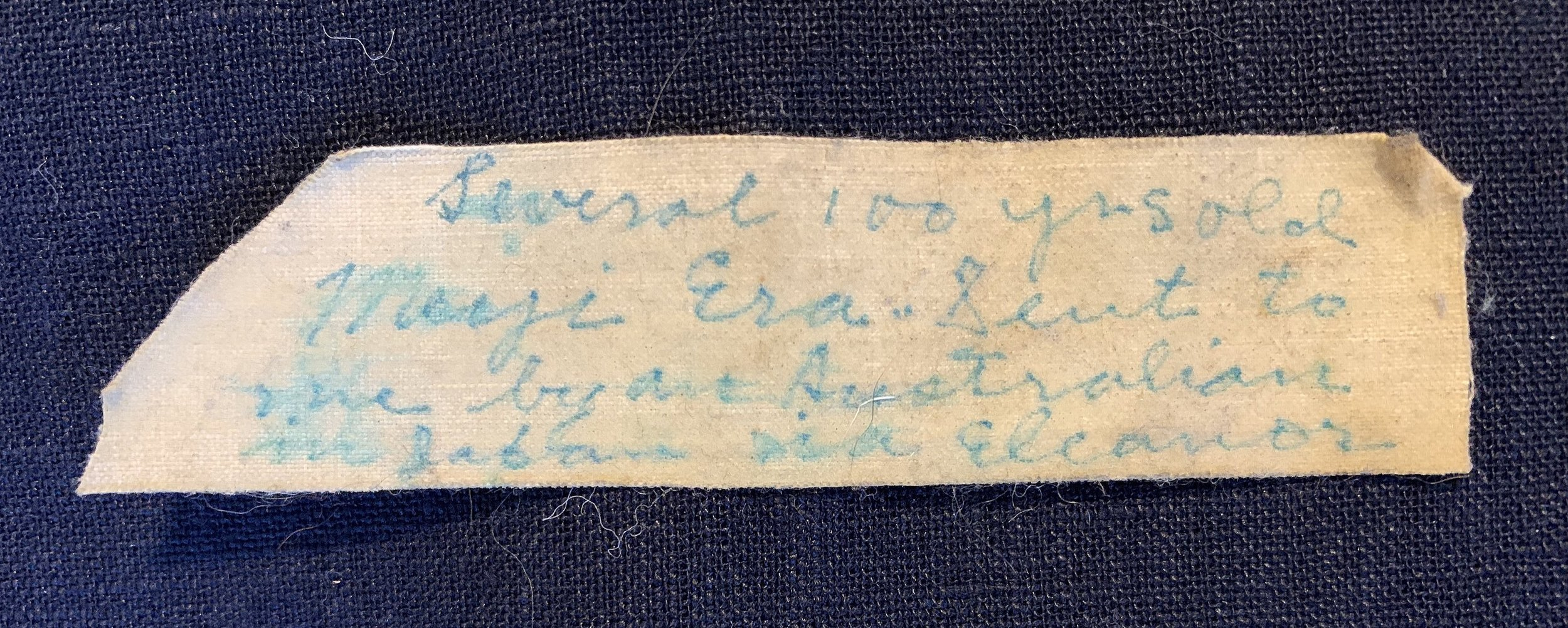 """Several 100 yers old. Meiji Era. Sent to me by an Australian in [SIC] Eleanor"""