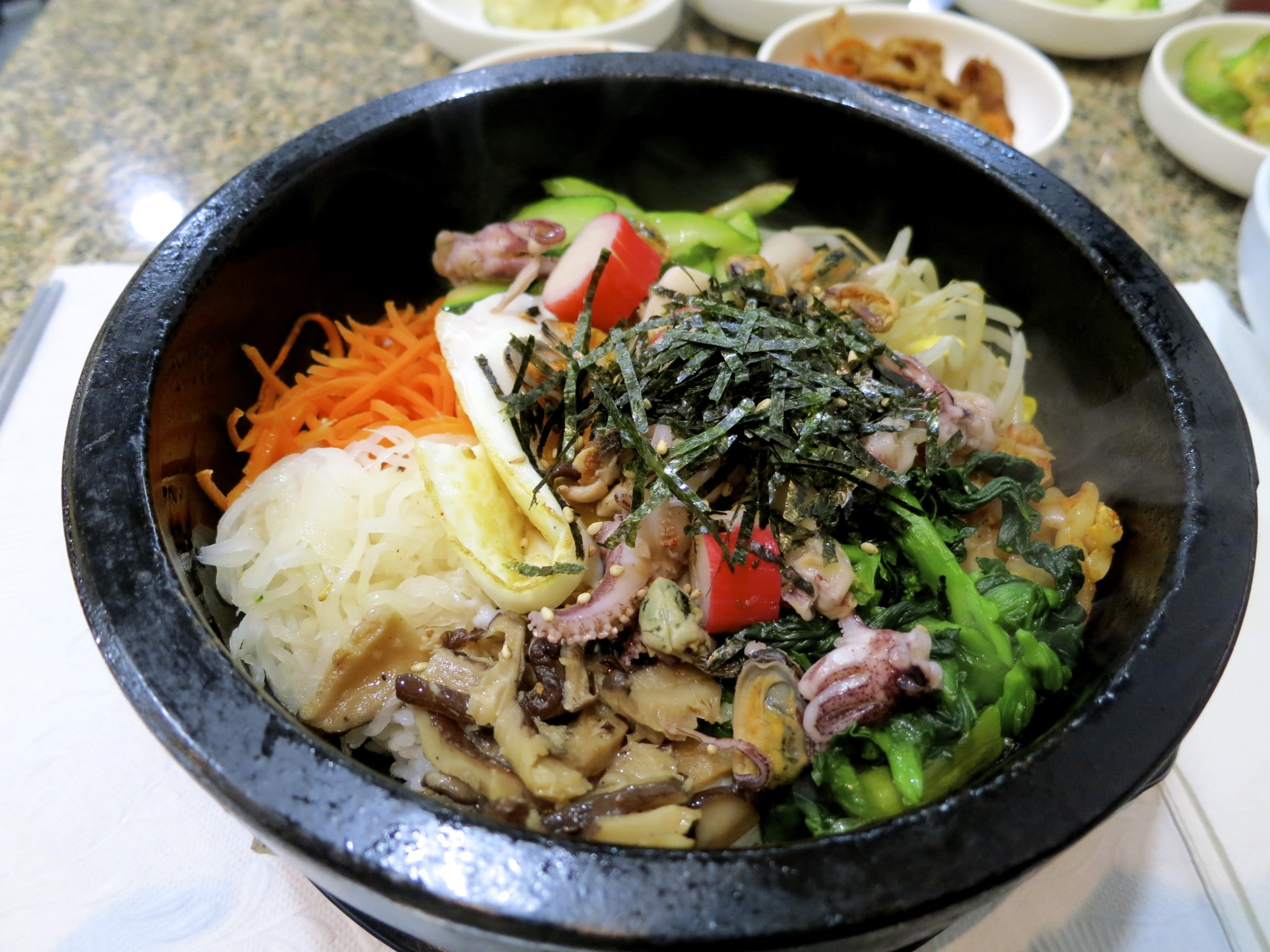 Haemool Dor Sot Bibim Bap ($10.19)