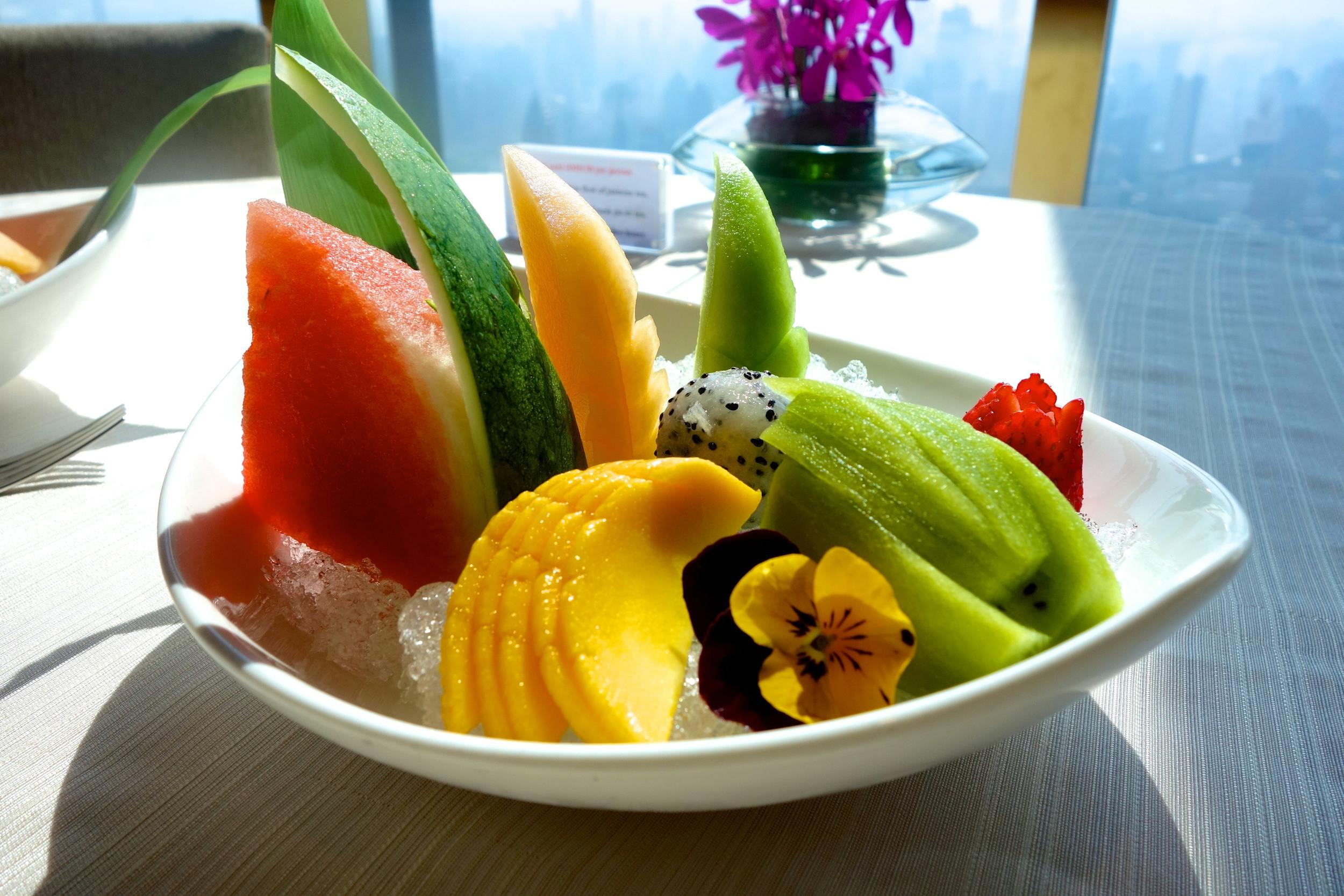 Dish 6: fruit platter