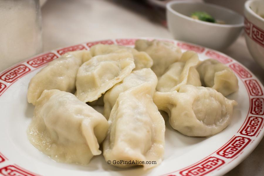 Cabbage dumplings