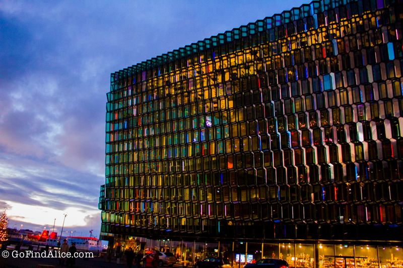 Harpa Convention Center in Reykjavik