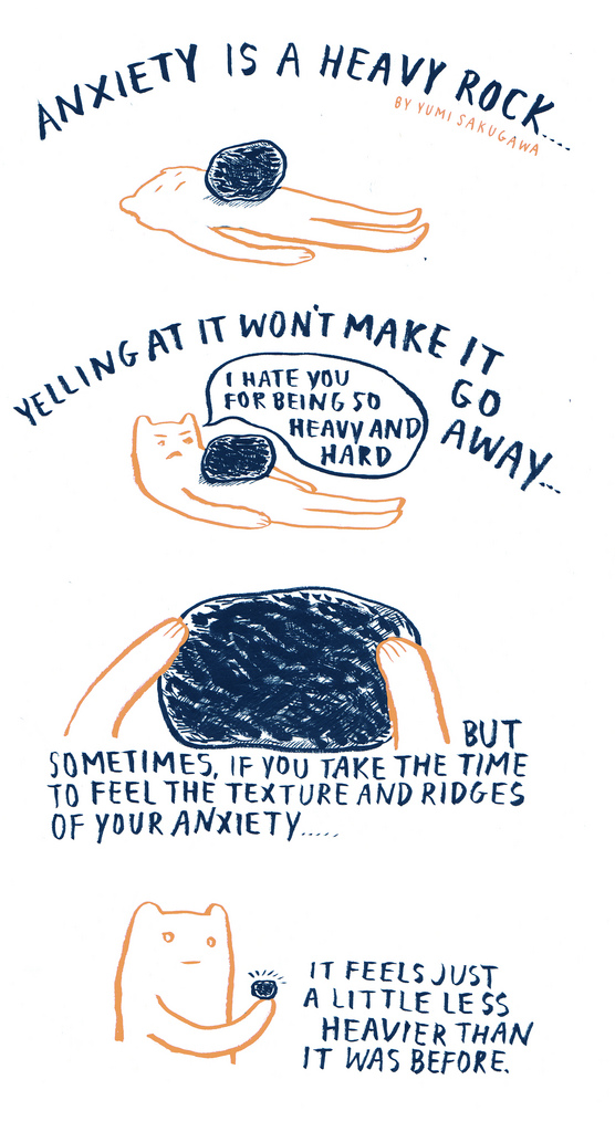 anxiety-rock-yumi-sakugawa