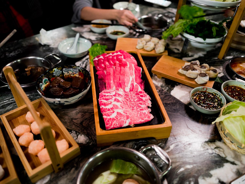 Combo meat platter!