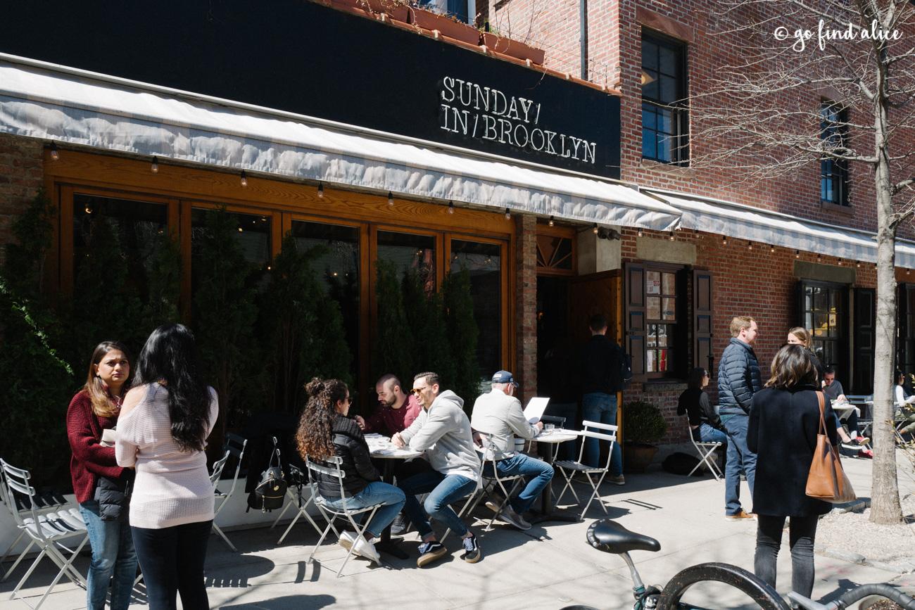 Sunday in Brooklyn - Outdoor Patio