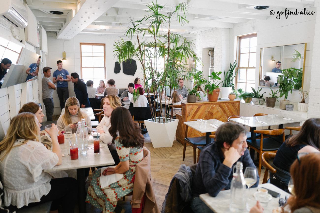 Sunday in Brooklyn - Second Floor Interior