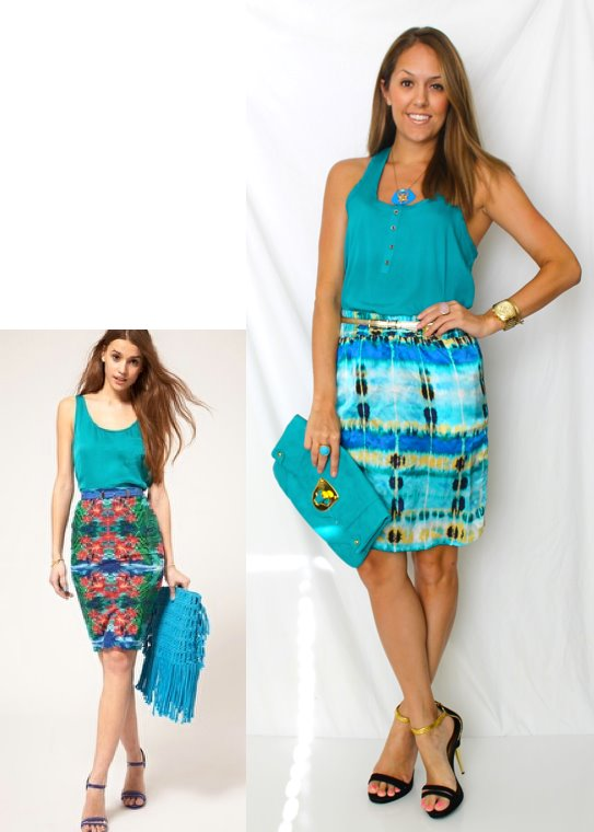 Printed Skirt Inspiration