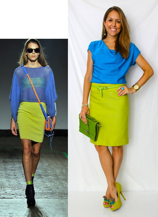 Blue-Green Outfit Inspiration