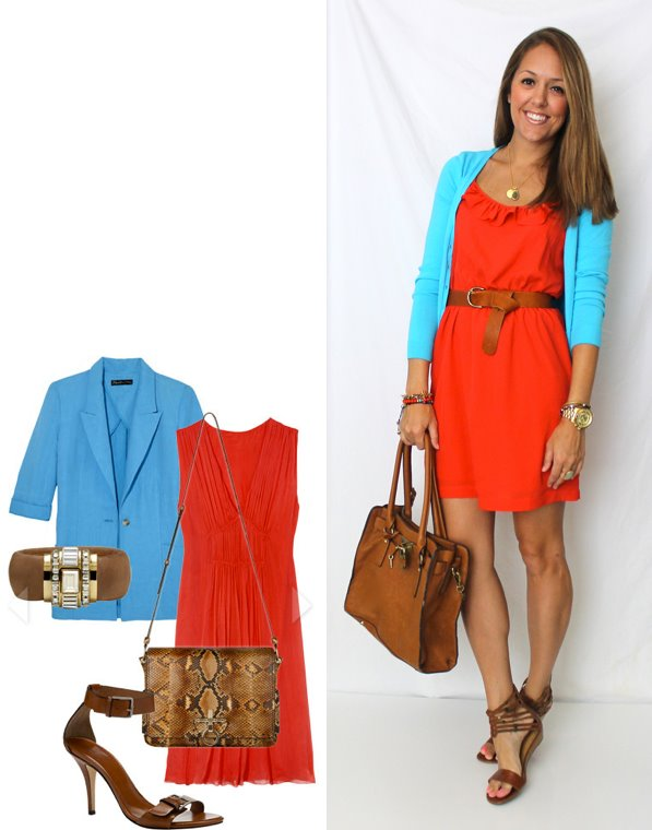 Color Combo: Blue and Red