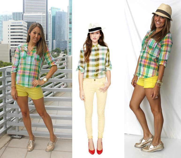 Plaid Top Inspiration