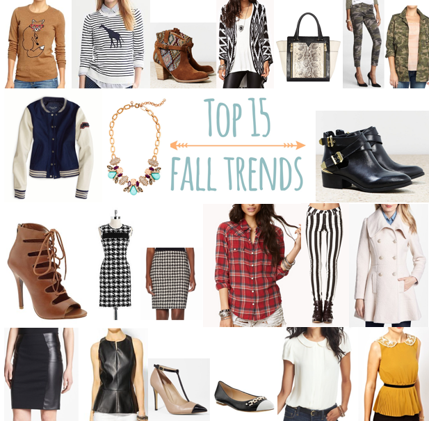 Top 15 Fall Trends