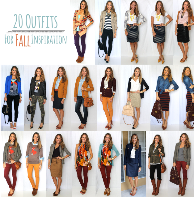 20 Outfits for Fall Inspiration