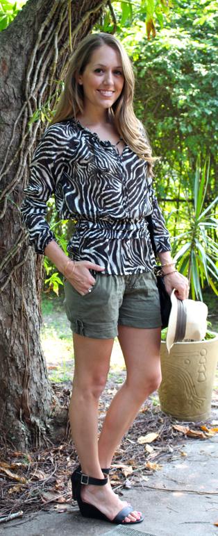 Safari trend outfit