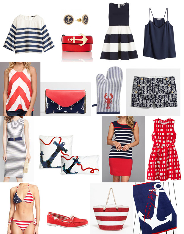Red, white blue shopping under $100