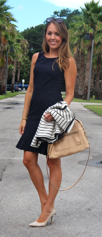 Ann Taylor navy dress