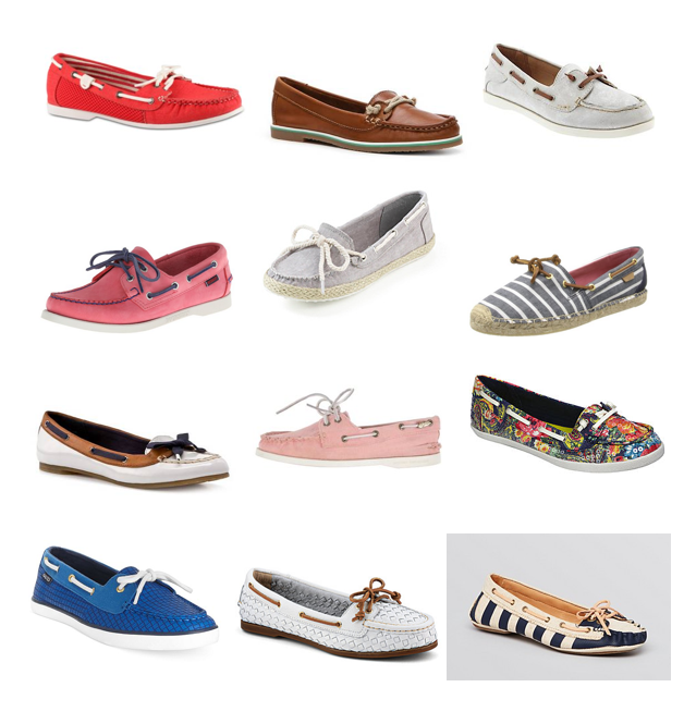 Boat shoes on a budget